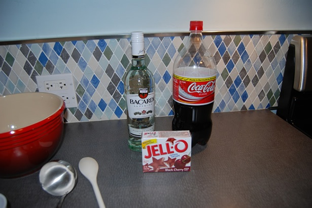 Jack and coke jello shot recipe