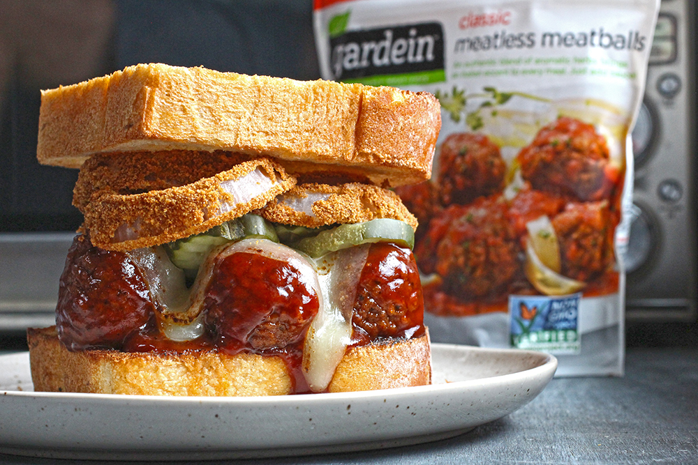 Bbq Meatless Meatball Sandwiches The Food In My Beard