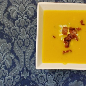 Pumpkin Blue Cheese Soup