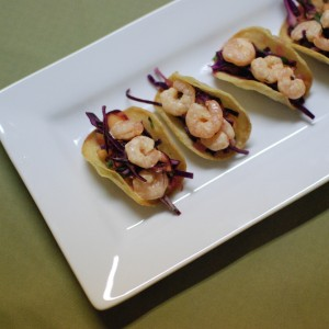 Mini Shrimp Tacos