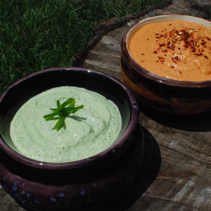 Two Quick Sour Cream Dips