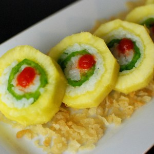 Pineapple Jalapeno Roll