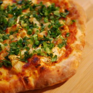Aloo Gobi Pizza
