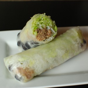 Burrito Summer Roll