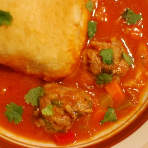 Albondigas and Biscuits
