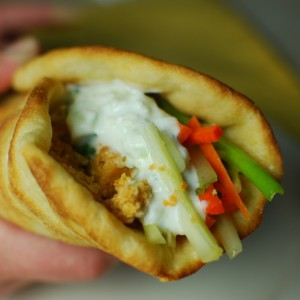 Buffalo Chicken Gyro