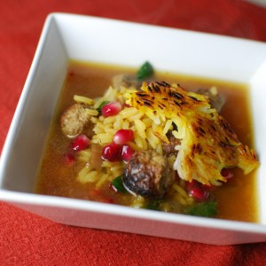 Persian Wedding Soup