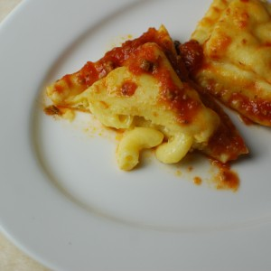 Mac and Cheese Ravioli