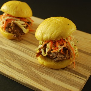 Corned Beef Steamed Buns
