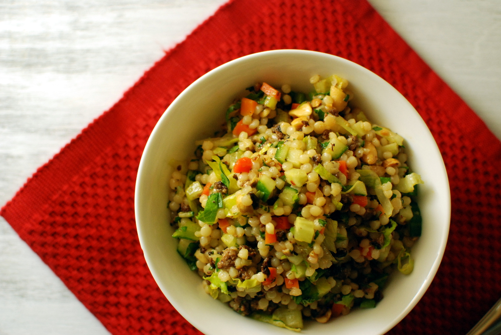 Vietnamese Cous Cous Salad - The Food in My Beard