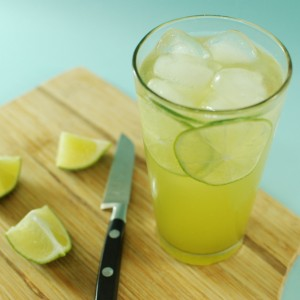 Green Tea Lime Spritzer