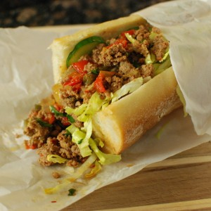 Thai Sloppy Subs