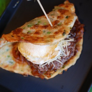 Scallion Pancake Burger