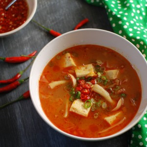 Korean Pork and Cabbage Soup