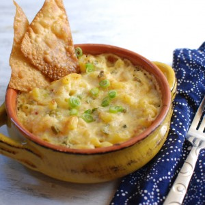 Crab Rangoon Mac and Cheese