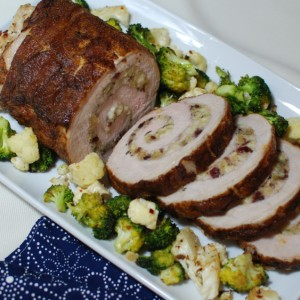 Manchego Stuffed Pork