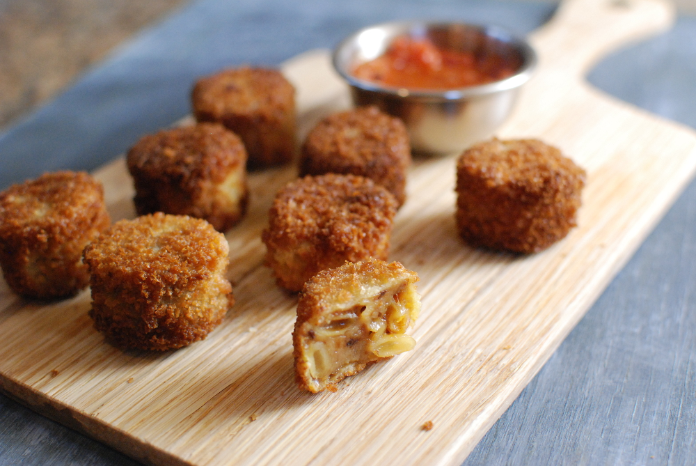 Dose of Reality - Mac and Cheese Balls Fried in Truffle ...