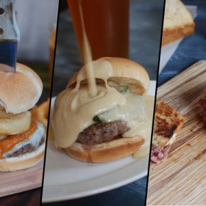 Beer infused Burgers