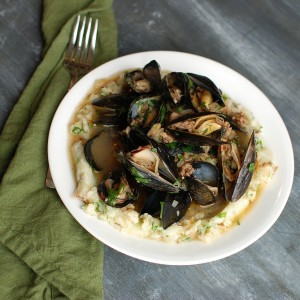 Mussels and Mash