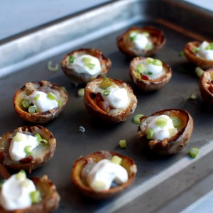 Smoked Potato Skins
