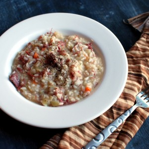 Corned Beef Risotto