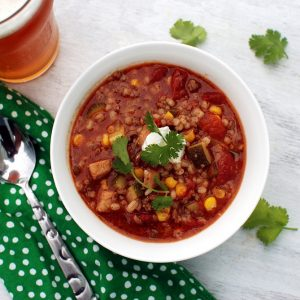 Beer and Barley Chili