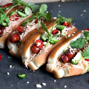 Vermicelli Hot Dogs