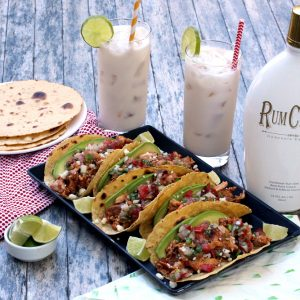 RumChata Chicken Tacos