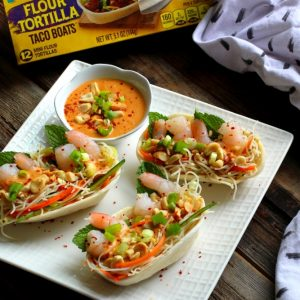 Summer Roll Taco Boats