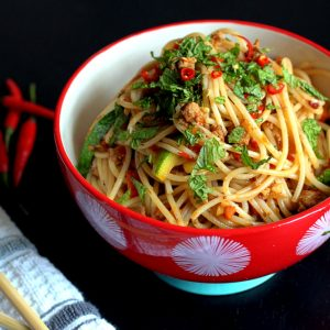 Spicy Teriyaki Noodles