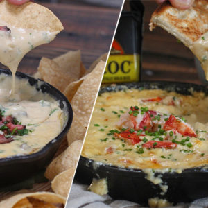 Two Hot Cheese Dips