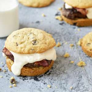 Cookies and Milk Burger