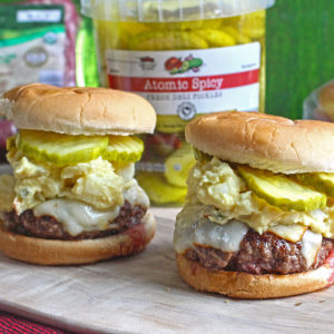 Potato Salad Burger