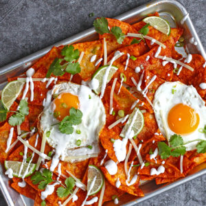 Red Curry Chilaquiles
