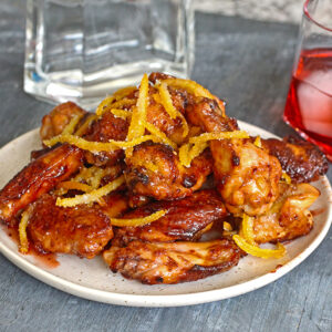 Negroni Glazed Wings